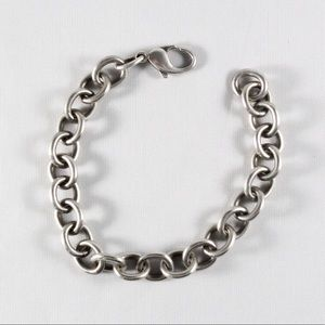 JAMES AVERY Classic Cable Charm Bracelet 7.5""